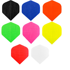 1 x SET FABRIC RIPSTOP CLOTH DART FLIGHTS NYLON - Choose Colour - Standard Shape