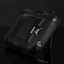 Rugged Heavy Duty Case Belt Clip Holster Kickstand 4 Samsung Galaxy S4 SIV i9500