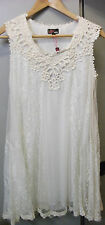 WOMENS YUMI IVORY LACE NET DRESS * BRAND NEW *