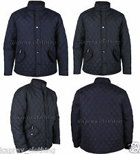 New Mens Diamond Padded/Quilted Jacket JK199