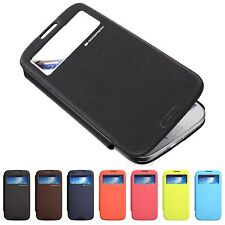 MERCURY GOOSPERY WALLET FLIP EASY VIEW COVER HARD CASE FOR SAMSUNG GALAXY S4 IV