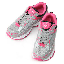 New Mesh Comfort Athlectic Running Training Womens Shoes Gray Pink Nova