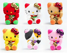 SANRIO AUTHENTIC HELLO KITTY LUCKY CAT MASCOT PLUSHES: CHOOSE YOUR COLOR
