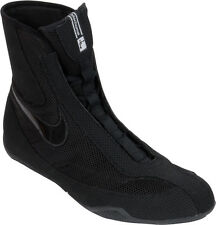 Nike Machomai Boxing Shoes Boots Mid Top Kickboxing Training Gear Black