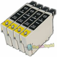 4 non-oem T0711/T0712/T0713/T0714 Epson Cheetah/Monkey Ink Cartridge-Any Colour