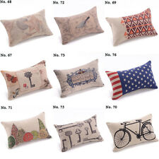"New Fashion Waist Pillow Case Cushion Cover Decorative12"" Decor Colorful"