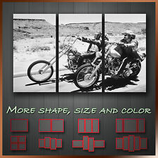 Easy Rider Modern Abstract Movie Wall Art Canvas ~ 3pc More Size & Color