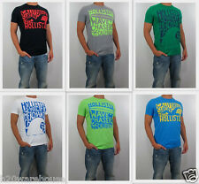NWT HOLLISTER By Abercrombie Men 's Muscle Slim Fit PC Highway T Shirt Tee