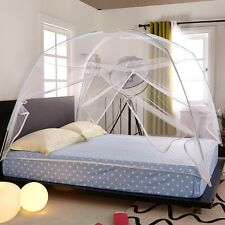 White/Pink Portable Folding Mosquito Net Tent Freestand bed Twin Queen King