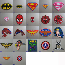Superhero Iron-on Embroidered Cloth Patch Badge Appliqué comic TV movie film
