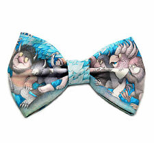 Where The Wild Things are Bow Tie - with Adjustable Strap