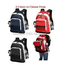 "BACKPACK 20"" BIG LARGE BRAND NEW BOOK BAG SCHOOL COLLEGE TRAVEL OVERNIGHTS LAP"