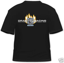 """Project 1320 """"New Design""""  Black T-Shirt - Drag Racing - Made in America"""