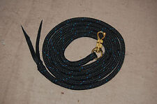 12' LEAD ROPE w/ PARELLI SNAP FOR NATURAL HORSE TRAINING, MANY COLORS AVAILABLE!