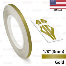 """12mm 0.5"""" PinStripe PinStriping Pin Stripe Decals TAPE STICKERS Cars Motorcycles"""