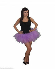 Neon Tutu Skirt Purple Lilac Lavender 6 Layer 80s Fancy Dress Hen Party Fun Run