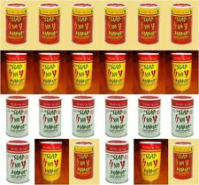 6 PACK SLAP YA MAMA SEASONING HOT WHITE PEPPER ORIGINAL YOU CHOOSE free recipe