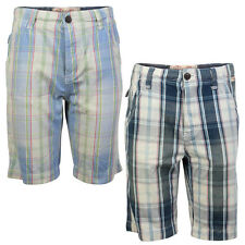NEW TOKYO LAUNDRY MENS ALONSO CHECKED CARGO SUMMER CASUAL SHORTS SIZE S-XL UK