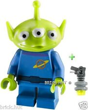 LEGO TOY STORY, SPACE ALIEN FIGURE + FREE RAY GUN - SUPER FAST - BESTPRICE - NEW