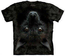 Bat Head Adult  Animals Unisex T Shirt The Mountain