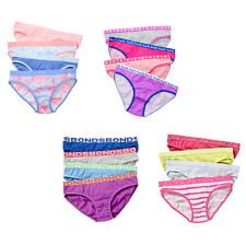BONDS GIRLS 4 PACK PAIR UNDERWEAR KIDS GIRL BRIEF BRIEFS UNDIES - 12 COLOURS !