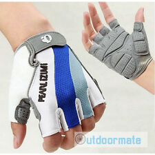 Cycling Gloves Half Finger Gel M L XL Blue Bicycle MTB Road Bike Good Quality