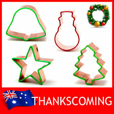 * Christmas Series * Cookie Biscuit Pastry Fondant COPPER Mold Mould Cutter Tool