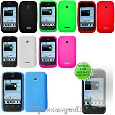 HUAWEI Inspira H867G Glory H868C Prism II 2 Tracfone Gel Skin Case Cover Screen