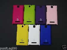 Sony Xperia E & Dual C1605 C1505 Hard Back Shell Cover Case Guard