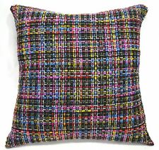 Eh101 Black Red Grey Cotton Blend Sofa Cushion Cover/Pillow Case*Custom Size*