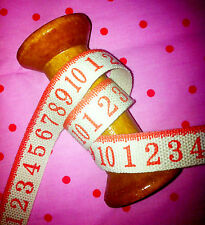Grosgrain ribbon trim Zakka - Red Sewing Cotton Tape -1.5cm wide sold by metre