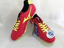 Mizuno JAPAN Super Sonic Wave 3 Jr MD Yorth soccer football shoes 12KP338 Red
