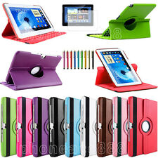 360°Rotating Stand Leather Case Cover for Samsung Galaxy Note 10.1 N8000/N8010