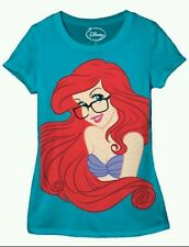 DISNEY LITTLE MERMAID ARIEL JUNIORS T-SHIRT  S M L XL