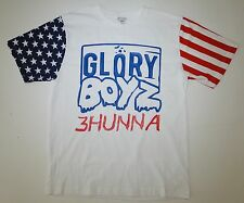 Glory Boyz 3Hunna Red White Blue American Flag T-Shirt Chief Keef GBE 300 Bang