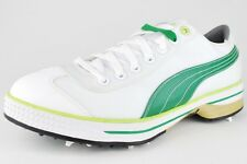 PUMA CLUB 917 WHITE AMAZON GREEN LIME GOLF CLEAT 185227 07 RICKY FOWLER S32