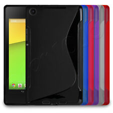 Deluxe GEL S-WAVE gomma Custodia Cover Pelle adatta per Asus Google Nexus 7 II 2013 TABLET
