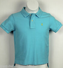 Polo Ralph Lauren Toddler Boy's Classic-Fit Mesh Polo, Baby Blue