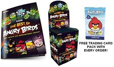 Angry Birds Sticker Collection - The Best Of Angry Bird Stickers +FREE CARD PACK