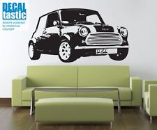 MINI COOPER Classic Car Boys Wall Decal Sticker VE42