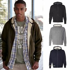 Independent Sherpa Lined Full Zip Hooded Thermal Mens Hoodie S-2XL EXP50TSZ