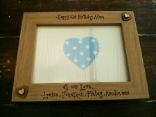 Personalised Photo Frame Birthday Present 1st 16 18th 21st Son Daughter Niece