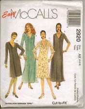 McCall's 2920 Misses'/Miss Petite Dress In Two Lengths - Sewing Pattern
