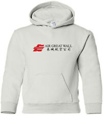Air Great Wall Retro Logo Chinese Airline HOODY