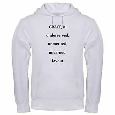 DEFINITION OF GRACE CHRIST FOLLOWER CHRISTIAN UNDESERVED hoodie hoody