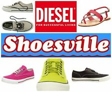 DIESEL MARCY W TRAINERS AND GINGERY SANDALS - ALL NEW,  REDUCED AT £54 BARGAIN!