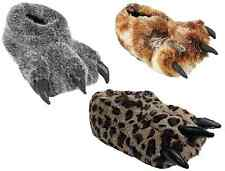 New Unisex Novelty Slippers Leopard Claw Funny Gift Idea Casual Comfy Indoor