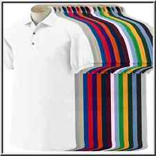 MEN POLO SHIRT COTTON/POLYESTER SIZES M-XXL 5 DIFFERENT COLORS BRAND NEW SHIRTS!