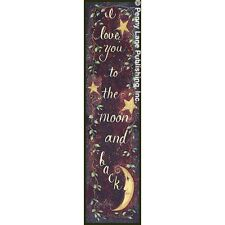 """Art Print / Framed / Plaque - Gail Eads - """"To The Moon And Back"""" ~ GE29A"""