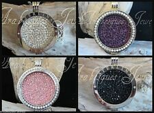 1x SMALL COIN/MONEDA ONLY FOR MI MILANO NECKLACE/PENDANT/KEEPER/GENUINE CRYSTAL.
